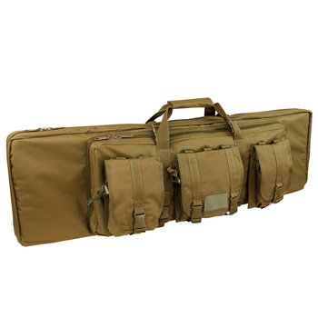 "Condor 46"" Double Rifle Case, Coyote Brown"