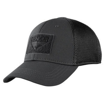 Condor Tactical Flex Cap Mesh Back Black L/XL