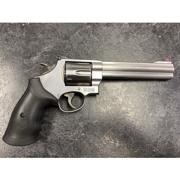 """Smith & Wesson Model 629-6 Classic 44 Mag 6.5"""" Stainless Revolver"""