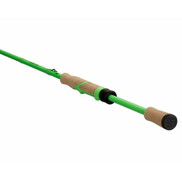 13 Fishing Fate Black 7'3M F Spinning Rod. 6-12lb