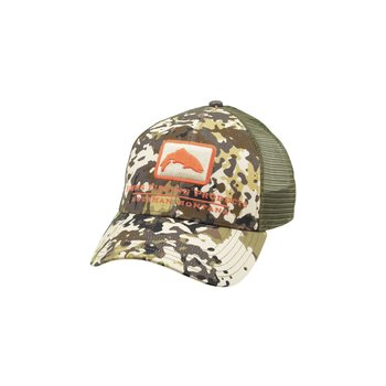 Simms Simms Trout Icon Trucker River Camo
