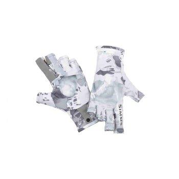 Simms Simms SolfarFlex Sun Glove Camo Grey L