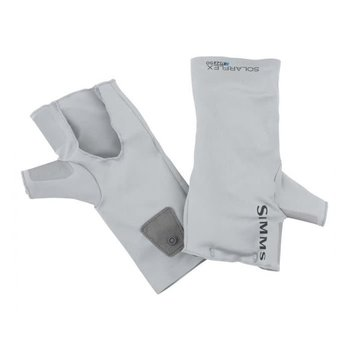Simms SolarFlex No-Finger Sun Glove Ash L/XL