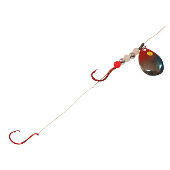 Northland Pro Walleye Crawler Harness UV Silver Christmas