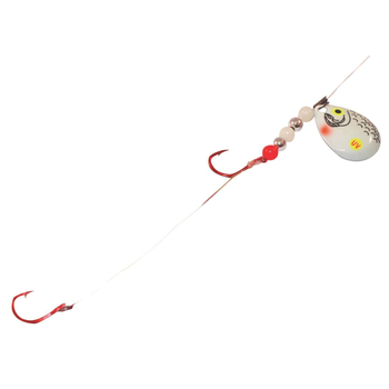 Northland Pro Walleye Crawler Harness UV Glow Shiner