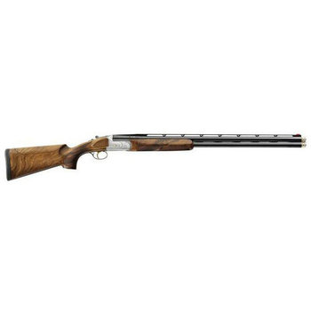 "Bettinsoli X-8 Extra Sporting Shotgun, 12ga Nickel Receiver 30"" Over/Under Barrels 3"" Chamber Adj Comb & High Rib"