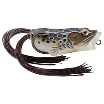 Koppers Live Target Scott Martin Hollow Body Popper Frog. Brown Black 2.""