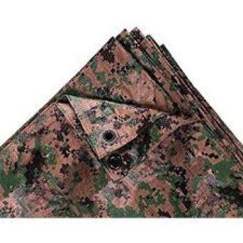 World Famous Bushline Camouflage Tarp 10'x12'