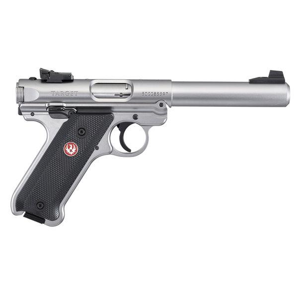 Ruger 40103 Mark IV Target Stainless 5.5″ 22LR Pistol
