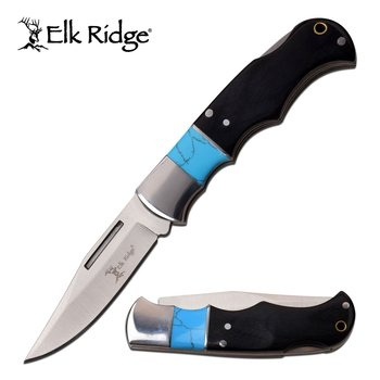 Elk Ridge Elk Ridge ER-943BL Folding Knife