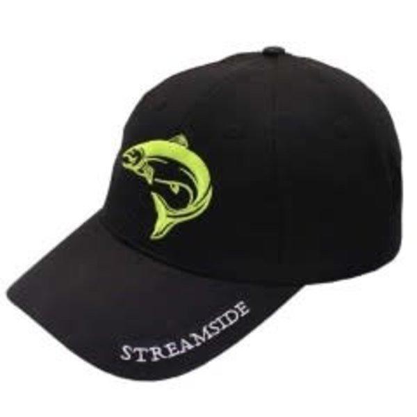 Streamside Black Ball Cap