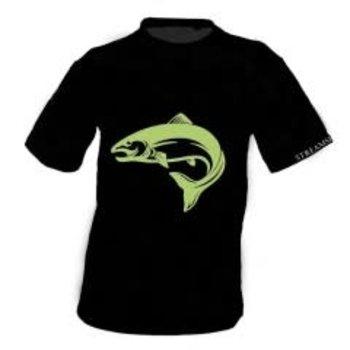 Streamside T-Shirt. Black M