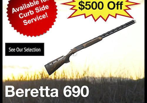 Beretta 690 Sporting Black 12ga Shotgun