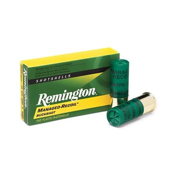 "Remington RL12BK00 MANAGED-RECOIL BUCKSHOT LOADS 12GA 2-3/4"" 1200 FPS 8 pel 00 BK"