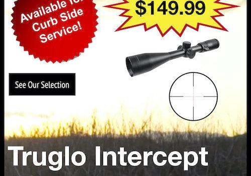 Truglo Intercept 4-12x44mm Riflescope