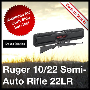 Ruger 10/22 Semi-Auto Rifle 22LR