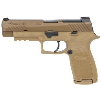 "Sig Sauer P320 M17 Semi-Auto Pistol 9mm Luger 4.7"" Barrel No Thumb Safety FDE 320F-9-M17"