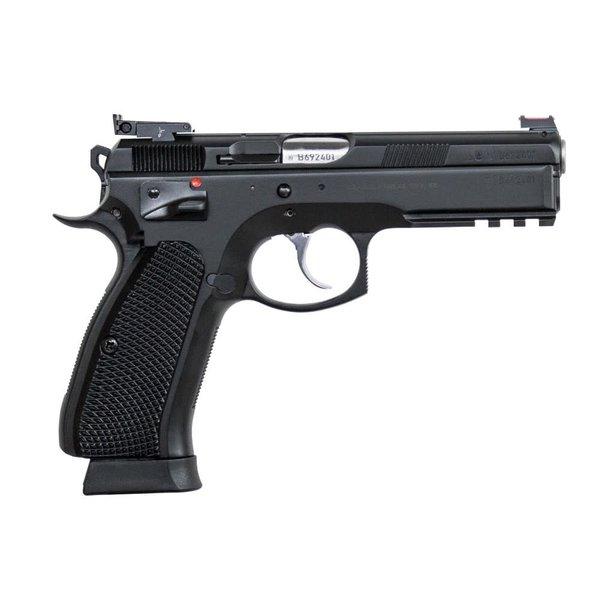 "CZ 75 SP-01 Shadow Target II Custom Shop Semi-Auto Pistol 9mm 4.6"" Barrel 91760-C"