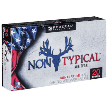Federal 6.5 Creedmore Non Typical 140GR Soft Point Ammunition