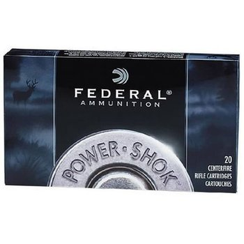 Federal Power-Shok Rifle Ammo 32 Win Special 170gr Soft Point 2250fps 20 Rounds