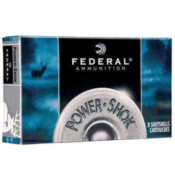 "Federal Power-Shok 20 Gauge Ammunition 2-3/4"" 3/4oz Rifled HP Slug"