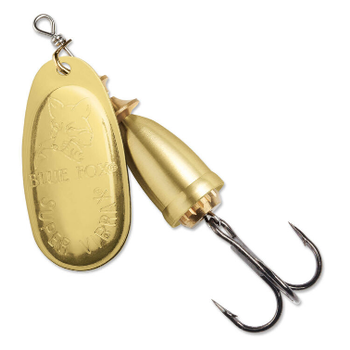 Blue Fox Classic Vibrax 7/16oz Spinner Gold