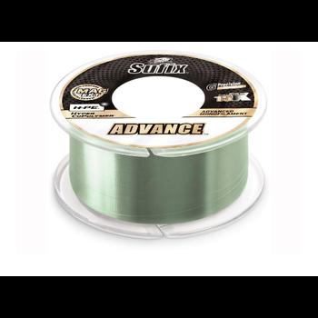 Sufix Advance Monofilament 6lb 330yds Low-Vis Green
