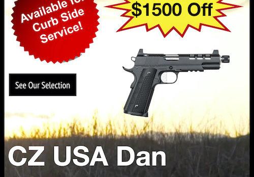 CZ USA Dan Wesson 1911 Discretion Pistol