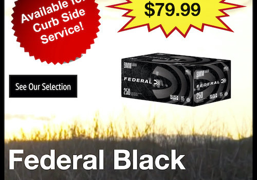 Federal Black Pack 9mm Ammo