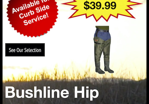 Bushline Hip Waders