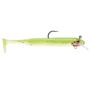 "Storm 360GT Searchbait Swimmer 3-1/2"" Chartreuse Ice 1/8oz"