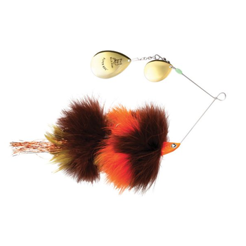 Blue Fox SuperBou Spinnerbait Brown Orange 2oz