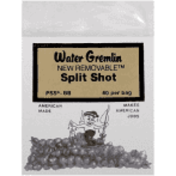 Water Gremlin Removable Split Shot 60/Bag PSS-BB