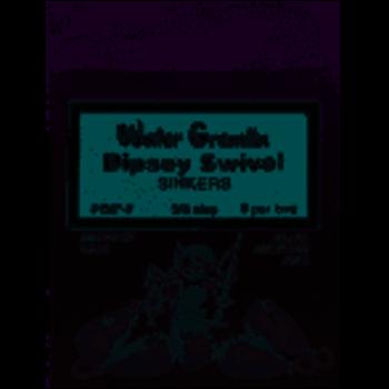Water Gremlin Dipsey Swivel Sinkers. 3/4oz 3-pk