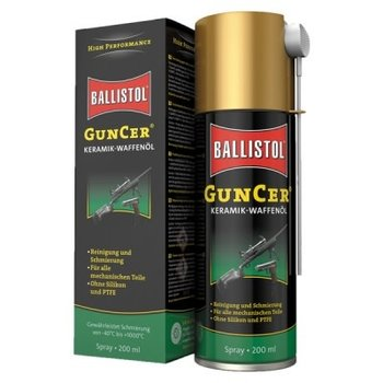 Ballistol GunCer Ceramic Gun Oil 200ML Spray Can