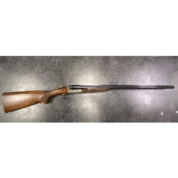 "Beretta 471 Silverhawk Gold 12ga 28"" Side/Side Shotgun w/Case & Chokes"