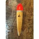 Coolwaters Balsa Wood 16g Slim Slip Float Hot Orange
