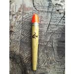 Coolwaters Balsa Wood 3.5g Slim Slip Float Hot Orange