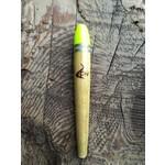 Coolwaters Balsa Wood 3.5g Slim Slip Float Chartreuse