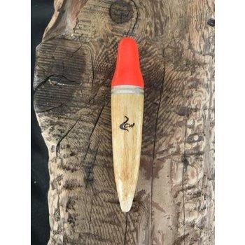 Coolwaters Balsa Wood 25g Slip Loafer Float Hot Orange