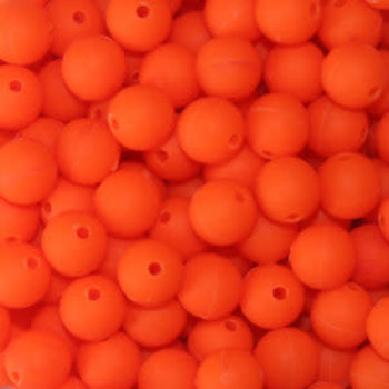 Troutbeads 8mm Fluorescent Orange