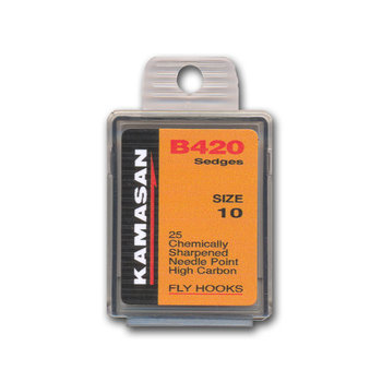 Kamasan B420 Fly Hooks # 10. 25pk