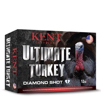 "Kent Ultimate Diamond Shot Turkey Ammo 12ga 2-3/4"" 1-5/8oz #5 Shot 10 Rounds"