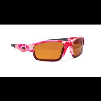 Rapala Girls Polarized Fishing Glasses Pink Camo