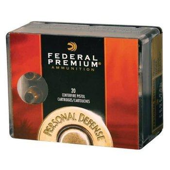 Federal Premium Personal Defense Handgun Ammunition P38HS1, 38 Special +P, Hydra-Shok JHP (JHP), 129 GR, 950 fps, 20 Rd/bx