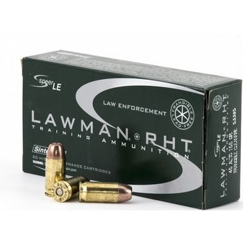 Speer Lawman Cleanfire RHT 45 ACP AUTO Ammo 155 Grain Frangible Total Metal Jacket