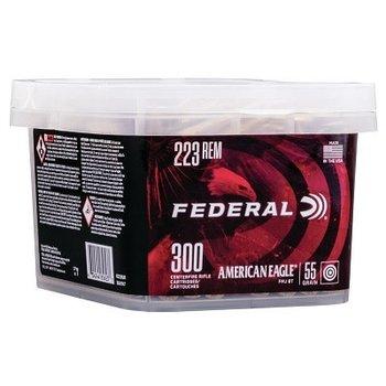 Federal American Eagle FDR 223 55GR FMJ BT 300RD Ammunition