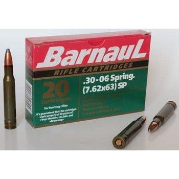 Barnaul 30-06 SPR 7.62x63 FMJ 145gr Non Corrosive 20/box