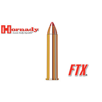Hornady LEVERevolution Ammo 45-70 Government 325gr FTX 20 Rounds
