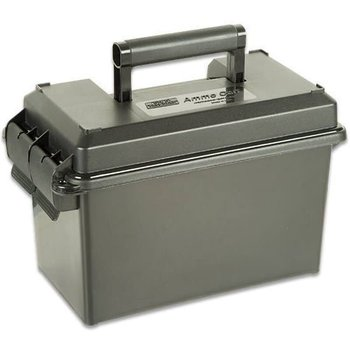 "MTM AC50C-11 50 Caliber Ammo Can Polypropylene, 7.4""L x 13.5""W x"
